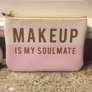 Ruby + Cash Makeup 💄 Is My Soulmate makeup pouch